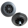 8 inch solid rubber garbage bin wheel prices