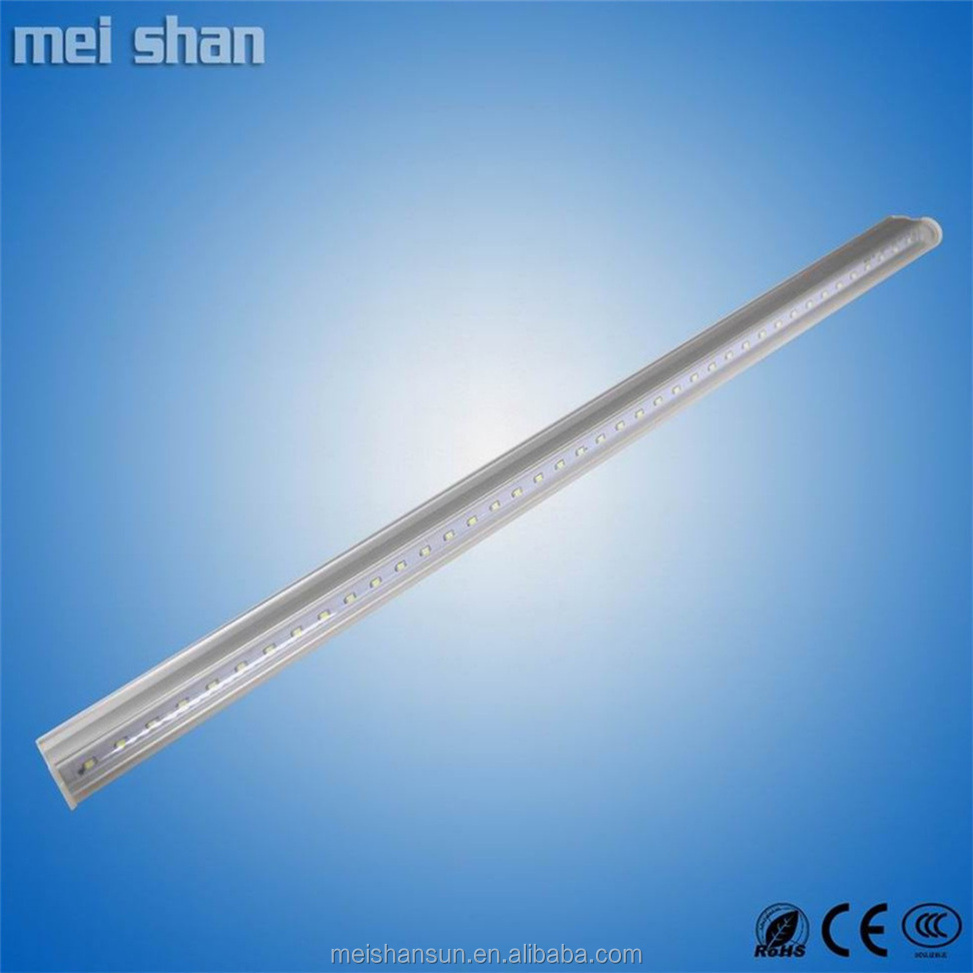 linkable design quick installation integrated led tube light PC+alu cover 18w t5 led tube