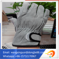 Applied widely Pallet packing wholesale leather gloves/kid leather gloves
