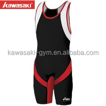 100% Manufacturer Sublimation Spandex Wholesale Buy Black Discount Wrestling Singlets