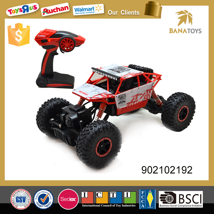 Free shipping 1:18 2.4G 4 wheel drive rc electric toy car for kids