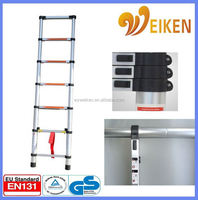 WK-TL07 2.0M Domestic Ladders Type and Step Ladders Structure aluminium telescopic ladder wurth