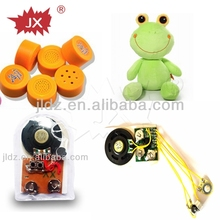 Pogrammable recordable mini voice recorder for plush toy