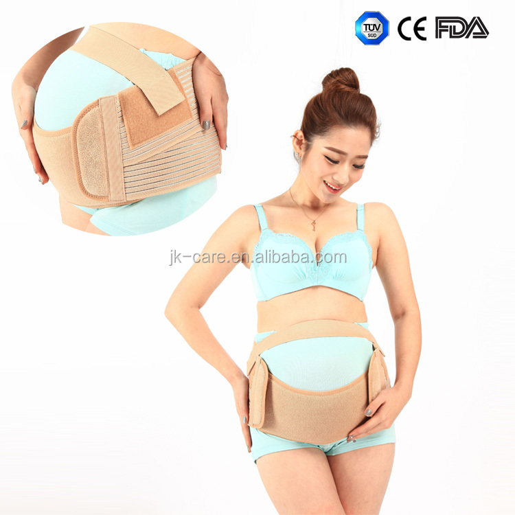 maternity back support belt soft elastic maternity belly band with CE certified