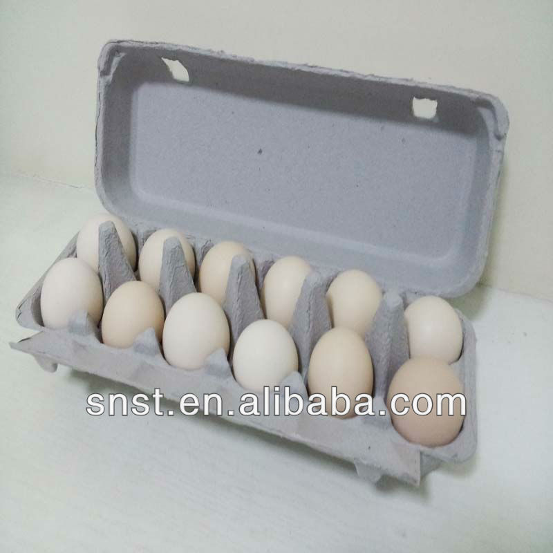 Pulp 12 eggs Paper egg packing boxes