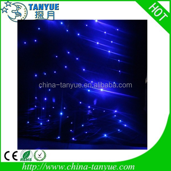 Romantic effect starcloth rgb led blue star clothing co