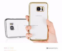 Mercury goospery Ring 2 case Crystal case Hard Back Cover for Samsung Galaxy S7 Edge