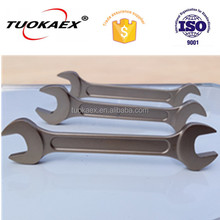 Non Spark Tools Double Open End Wrench For Petroleum Oil Industry