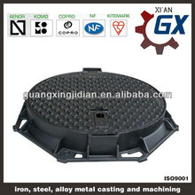German cast iron manhole cover,hinged manhole covers with competitive price