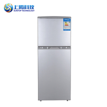 84L Adjustment function pro-coated steel plate small used double door refrigerator cold drink refrigerator
