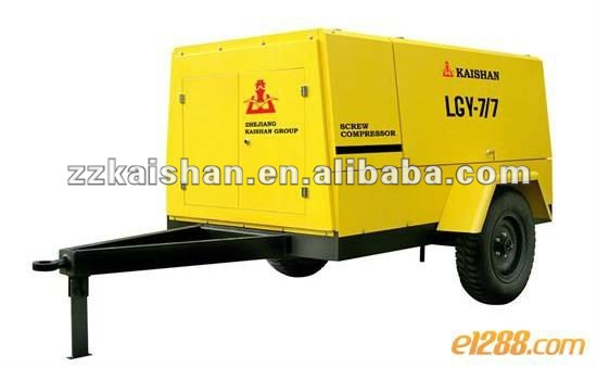 Safety and high efficient Diesel drived Screw air compressor