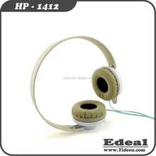 High Definition Stereo Foldable Headphones with Noise Isolation Ear Cups for mobile phone with 3.5mm Connector