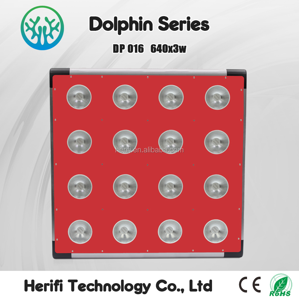 LED Panel 1200 watt Grow Lights 2017 Top COB LED Grow Lights for Veg Bloom Stages