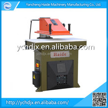 25t hydraulic swing arm bag leather glove cutting machine