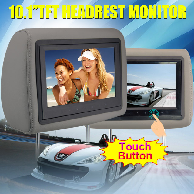 "android 5.1.1 car dvd player for car multimedia 10.1""universal car headrest monitor"