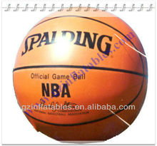 2012 (Qi Ling) portable pvc inflatable basketball model