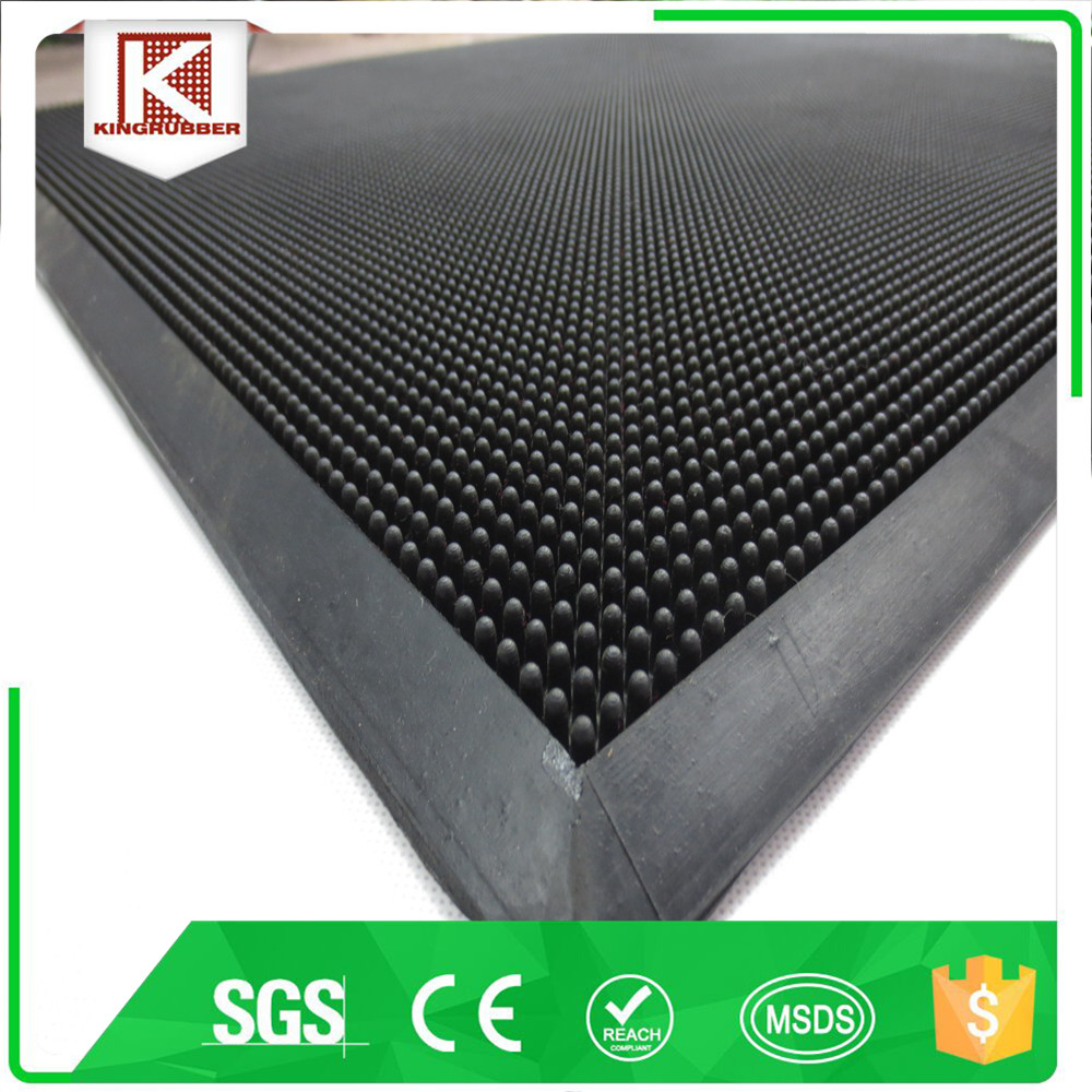 Rubber Finger Scrape Door Mat