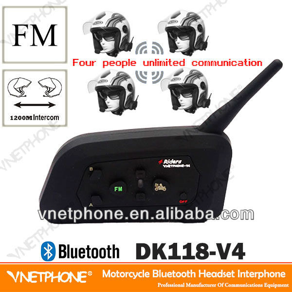 2013 the latest helmet bluetooth motorcycle accessory