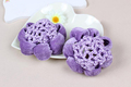 Cheap Velvet Scrunchie Hair Bun Snood Net Hair Decor Ballet Dance Crochet Hair Tie Net Accessories