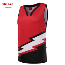 Wholesale OEM service 100% polyester quick dry tank top with custom design