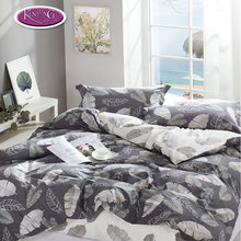 Cotton Duvet Hotel Bed Linen Cover Quilted Coverlet