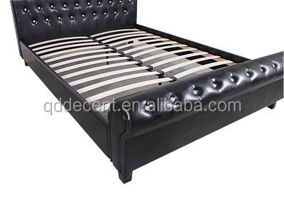Egyptian Furniture Moratuwa Bedroom Sets Crystal Black Sleigh Bed