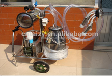 single cow portable milking machine / cow milker