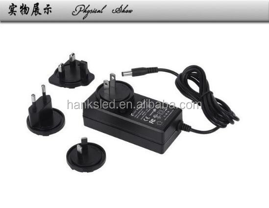 Free sample 3A Power adapter for led strip light kits