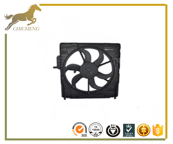 high quality auto cooling fan assembly 8414599099 for BMW X5 3.0si/ X5 4.8i N52/N62 2002-2007