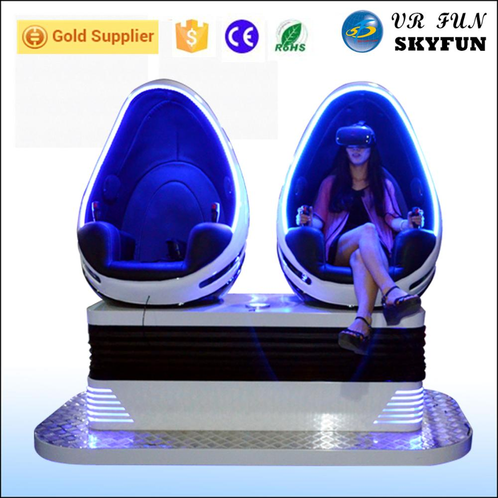 Chinese manufacturer 9d vr egg cinema 9d vr eggs crazy virtual reality 9d egg chair