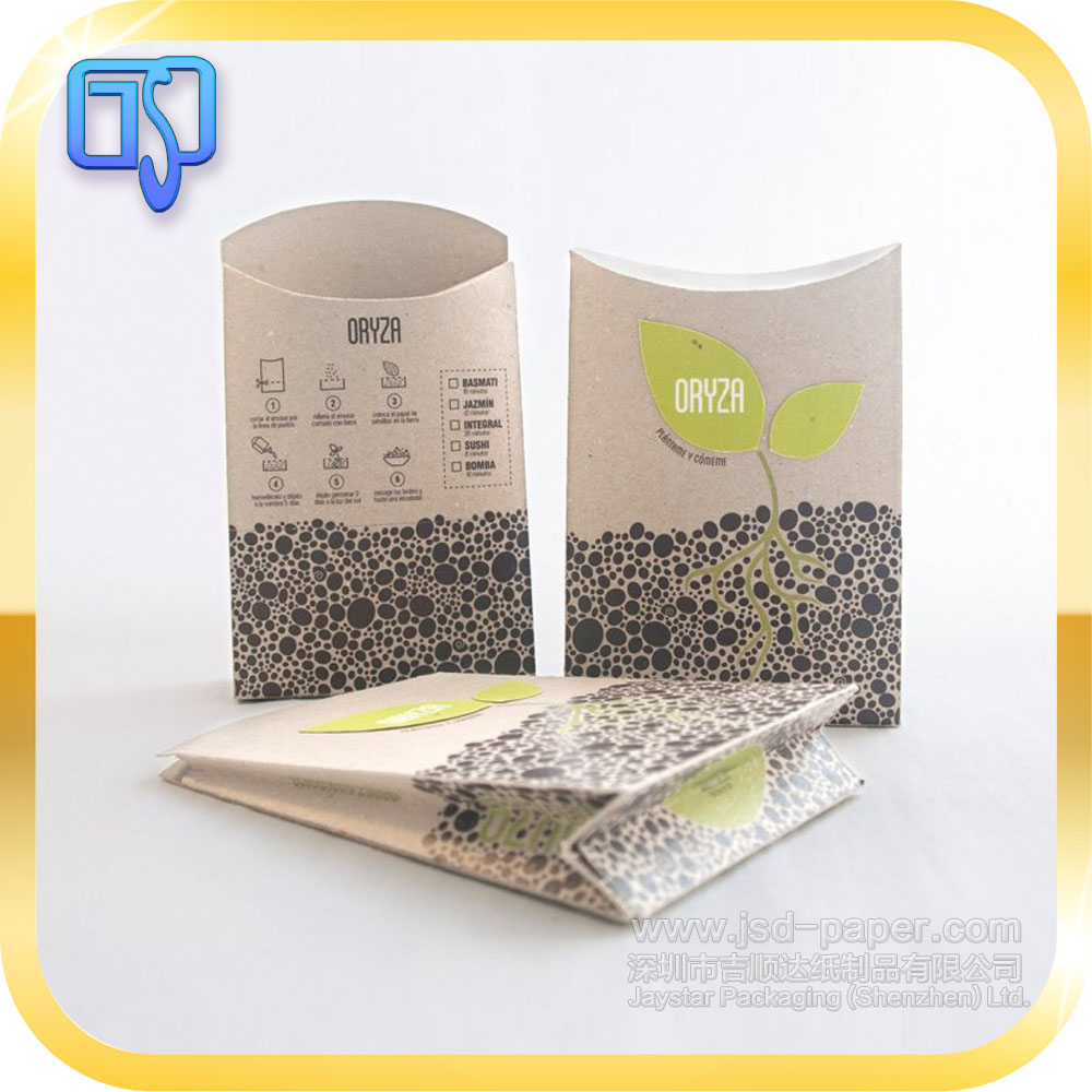 Envelope small paper box packaging