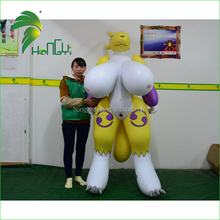 Hot Sale Giant Breasts Sexy Inflatable Cartoon , Inflatable Animal With SPH