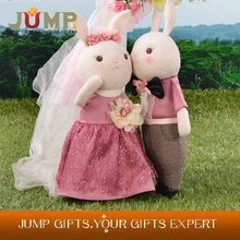 Low Price stuffed wedding animals from china OEM