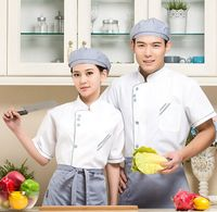 custom good quality plaim oil-proof unisex cooking uniforms,working uniforms,chef uniform for hotel staffs