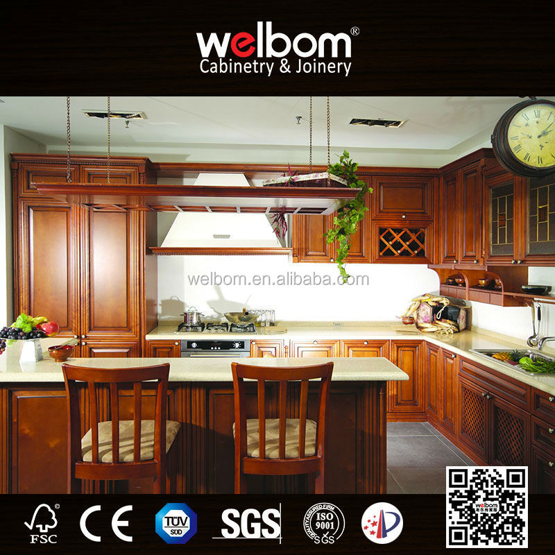 2015 Welbom Hot Sale Traditional American Style Kitchen