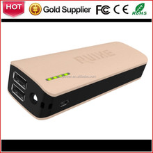 Rechargeable battery pack power supply with real capacity 5V 2.1A