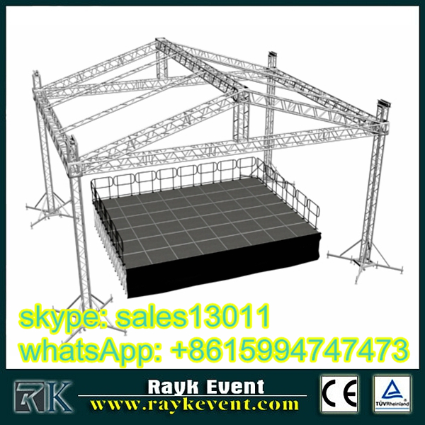 gold tuss hot sale truss plate easy install aluminum truss parts