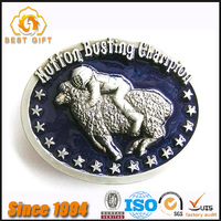 Custom High-end 3D Elegant Metal Belt Buckles Soft Enamel Buckles