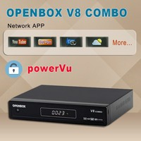 good quality wireless optical transmitter and receiver opennbox V8combo receiver support cccam cline
