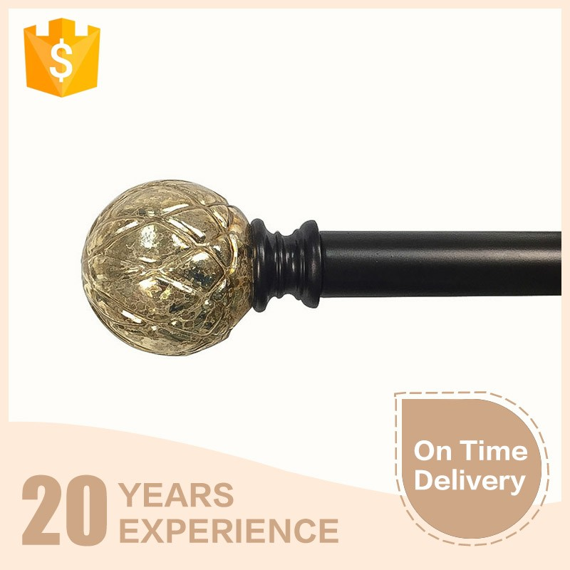 China manufacturer competitive price home decorative curtain rod set