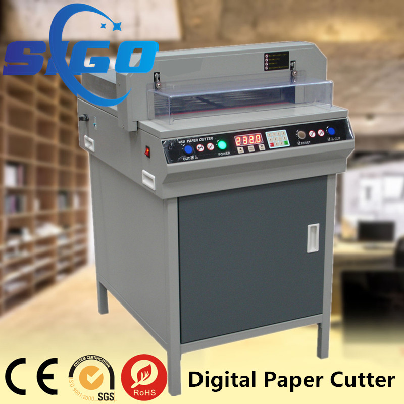 Automatic 450VS+Digital control office electric paper cutter