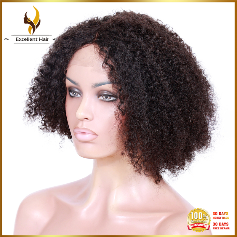 Brazilian Human Hair Natural Wigs For African American