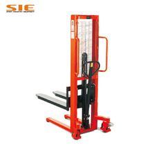 Hot Sale 1 ton Forklift With Pallet Manual Hydraulic Hand Stacker