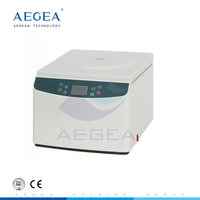 AG-D0037 Low noise high speed hematocrit desktop electric medical lab centrifuge price