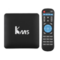 best selling products Minipc KM5 android tv box manual 4k box tv streaming media player andriod tv box sim card digital set top
