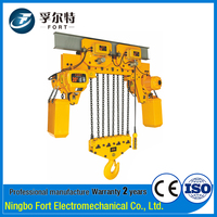 High Quality Construction 6KW Electric 20 Ton Futaba Chain Hoist