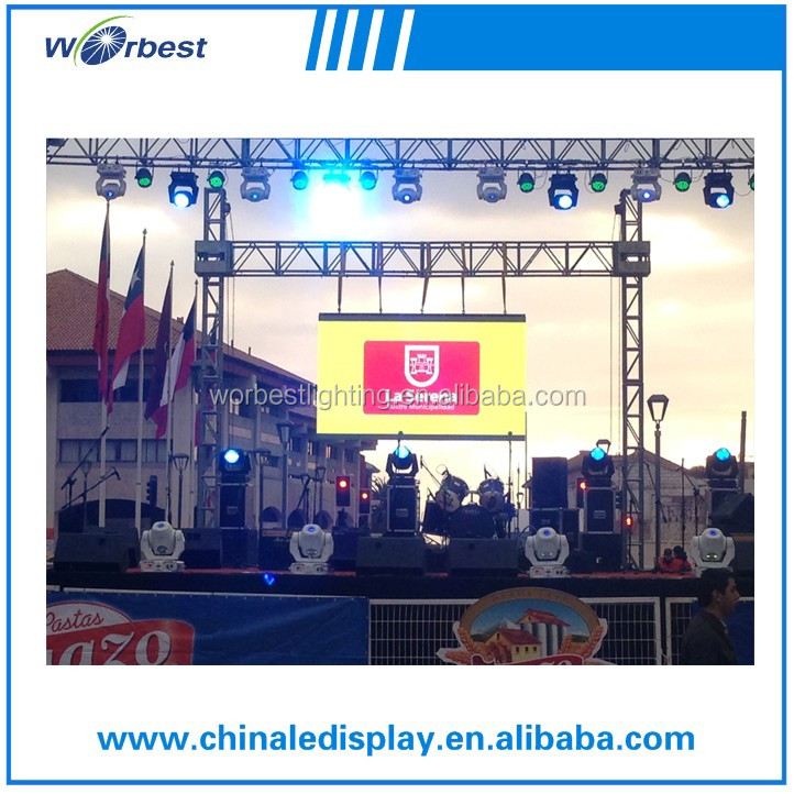 big event used P10 led outdoor rental display