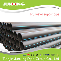 High Density Polyethylene (HDPE) solid wall pipes for use in potable water, sewer, mining and gas applications
