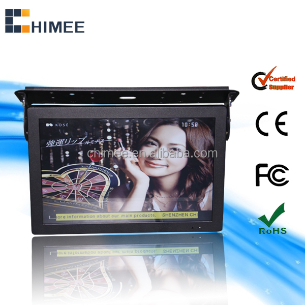 "22"" inch bus LCD wifi 3G internet advertising TV with roof mounting bracket"