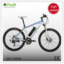 26 Inch 36V 500W Electric Motorcycles For Mountain